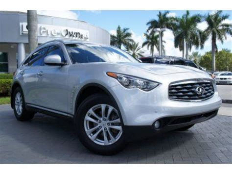 find used 2011 infiniti fx35 rear wheel drive 1 owner clean carfax florida car in pompano