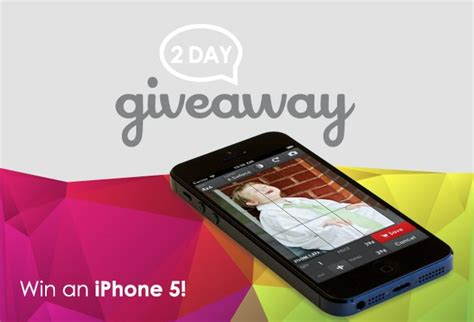 Iphone Official Giveaway Today - giveaway iphone 5 blog