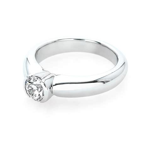 the split bezel engagement ring jm edwards jewelry
