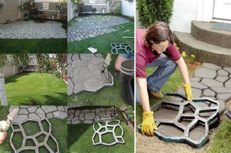 Diy Outdoor Patio Projects by Diy Quikrete Walkway Maker Patio Driveway Concrete St
