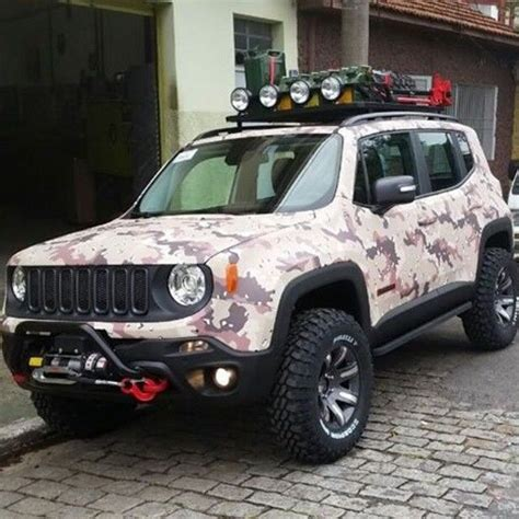 modded jeep renegade heavily modified jeep renegade car pinterest