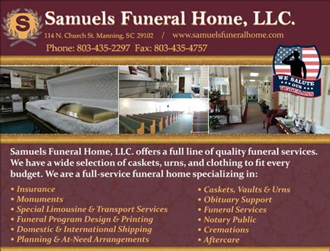 veteran s view samuels funeral home