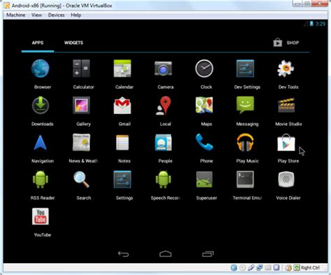 virtualbox for android how to install android in virtualbox