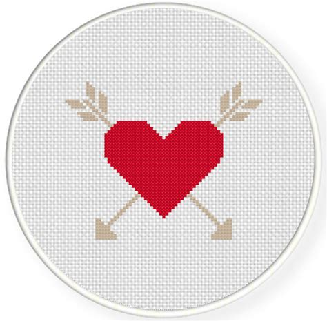 heart pattern for cross stitch cross my heart cross stitch pattern daily cross stitch