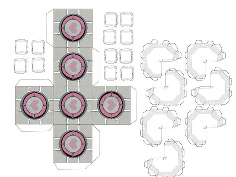 portal 2 c c papercraft by xxusernameclichexx on deviantart