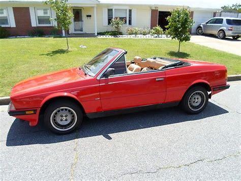 1987 maserati zagato sell used 1987 maserati biturbo spyder convertible fuel