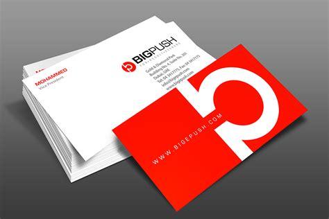 company profile design dubai bigpush dubai logo brochure designs by fahad khalid