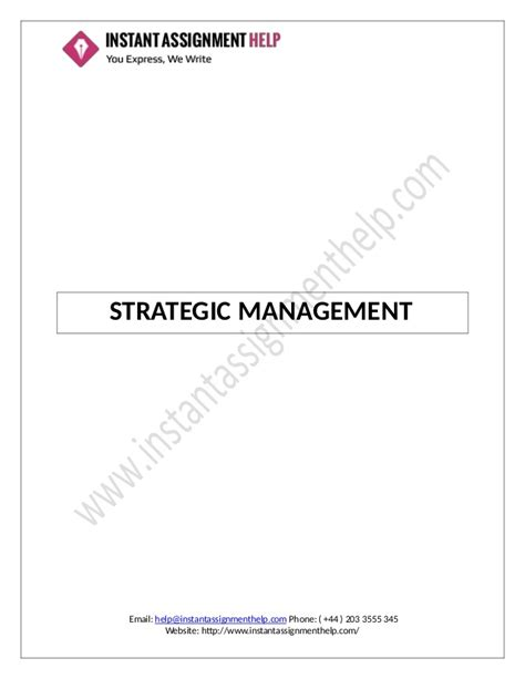 format assignment ums strategic management assignment sle