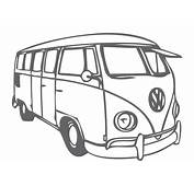 VW Bus  Download Free Vector Art Stock Graphics &amp Images