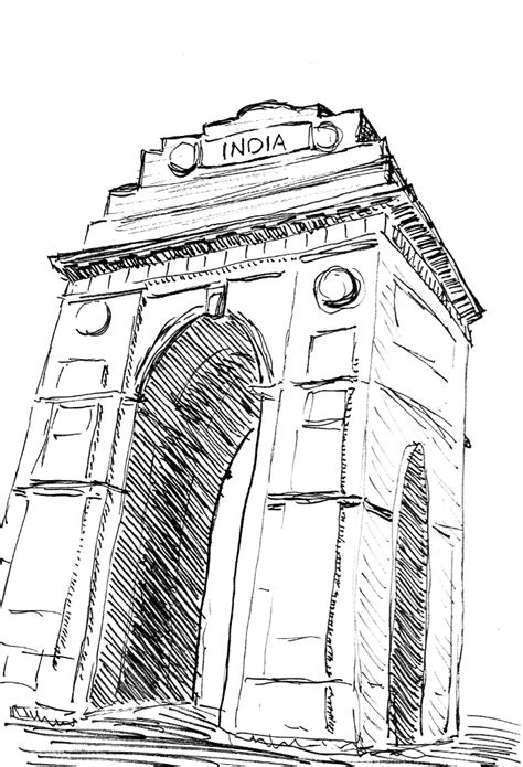 coloring pages of india gate india gate india gate was built as a world war i