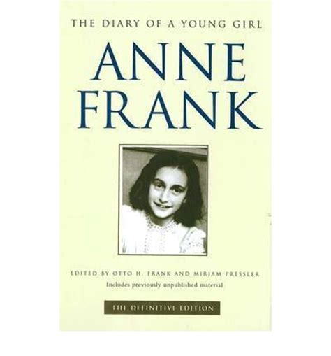 the diary of frank book report the diary of a definitive edition frank