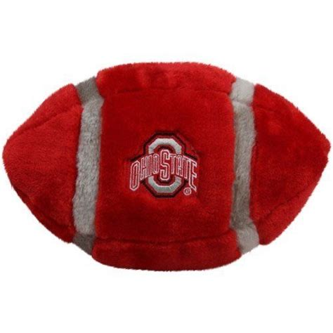 ohio state football colors ohio state buckeyes 11 quot plush football by pl 12 95 team