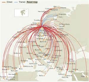 Norwegian Airlines Route Map by Norwegian Air Shuttle World Airline News Page 15