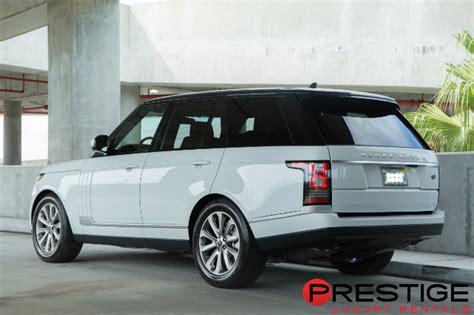 range rover rental boston 2016 range rover hse rental prestige luxury rentals