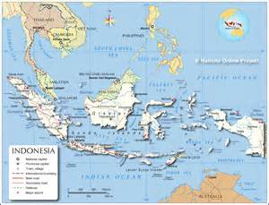 Indonesia Map World by Political Map Of Indonesia Nations Online Project