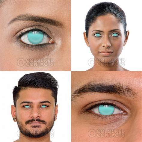 blue colored contact lenses blue blind 1 day colored contact lenses costume