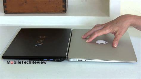 Laptop Vaio Dan Apple mid 2013 apple macbook air 13 quot vs sony vaio pro 13 haswell ultrabook comparison smackdown