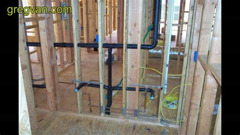 Laundry Clip Four Loaded Intl plumbing waste pipes that create problems for wall framing