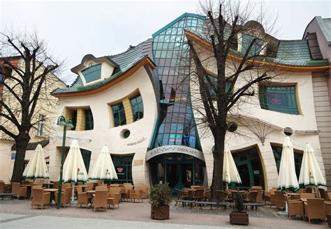 crooked houses krzywy domek crooked house in sopot poland idesignarch interior design architecture