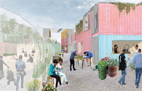 Grow:Brixton set prices for container hire and invite applicants to use the space behind the Rec