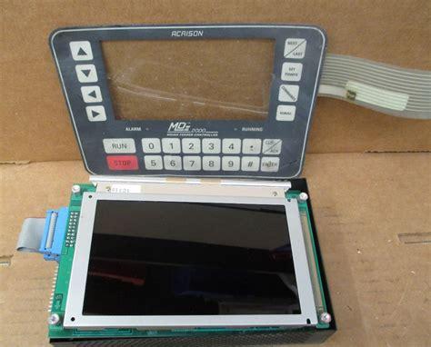 Weigh Feeder Controller acrison mdii 2000 weigh feeder controller keypad md 2
