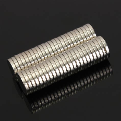 Magnet 12mm X 2mm Neodynium 50pcs n50 12mm x 2mm strong magnets earth