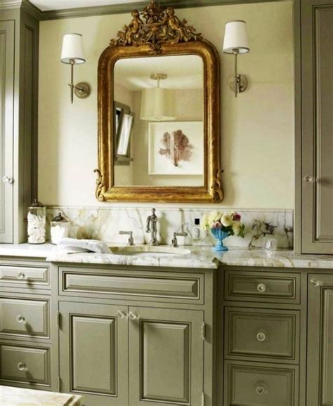 this green bathroom cabinet for the home