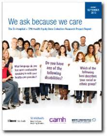 Because We Asked by We Ask Because We Care Report On Health Equity Data