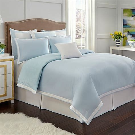 bed bath and beyond sugarhouse jill rosenwald sugarhouse reversible comforter set in blue