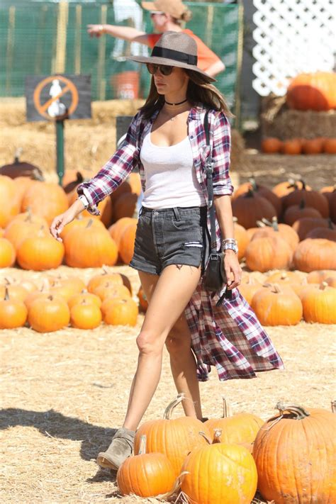 pumpkin patch los angeles alessandra ambrosio has at the pumpkin patch with
