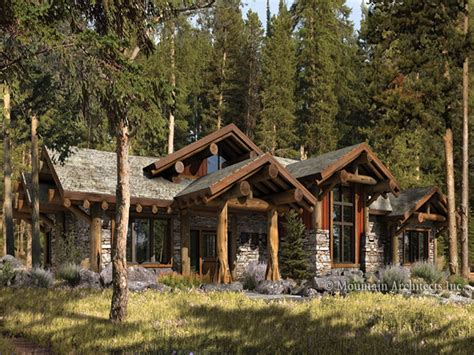 cabin style home log cabin style homes rustic log cabin home plans ranch