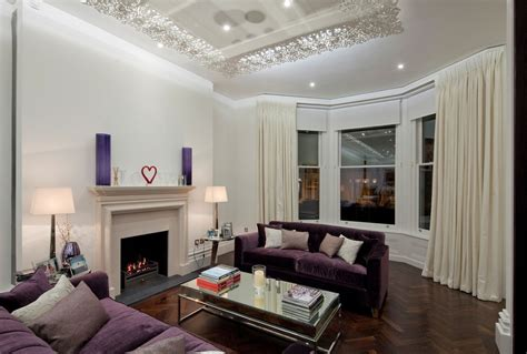 purple and brown living room 10 purple modern living room decorating ideas interior
