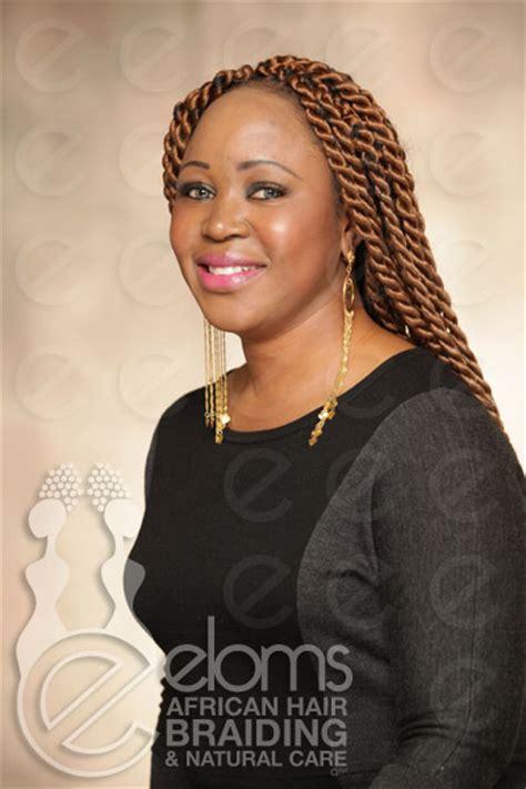 large african hairbraids eloms african hair braiding large senegalese twists