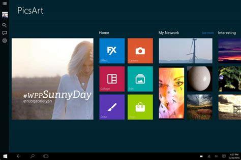 tutorial picsart app picsart nun auch als universal app f 252 r windows 10 und