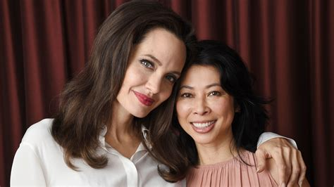 angelina jolie quot first they killed my father quot press angelina jolie follows her passion with first they killed