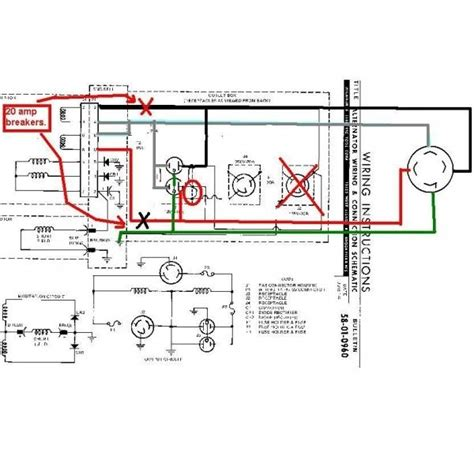 reliance manual transfer switch wiring diagram