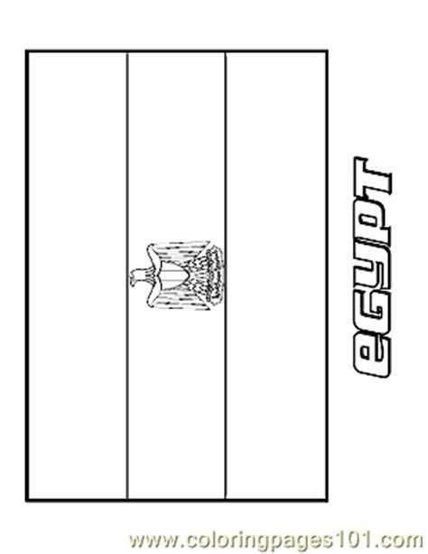 egypt coloring page free flags coloring pages