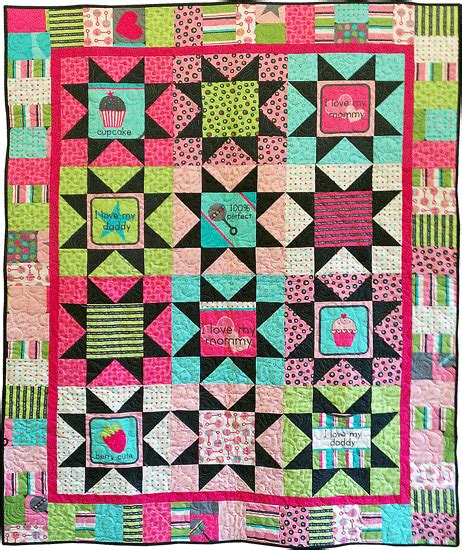 Free Quilt Fabric by Fabric Line Free Patterns Hennagir Designs