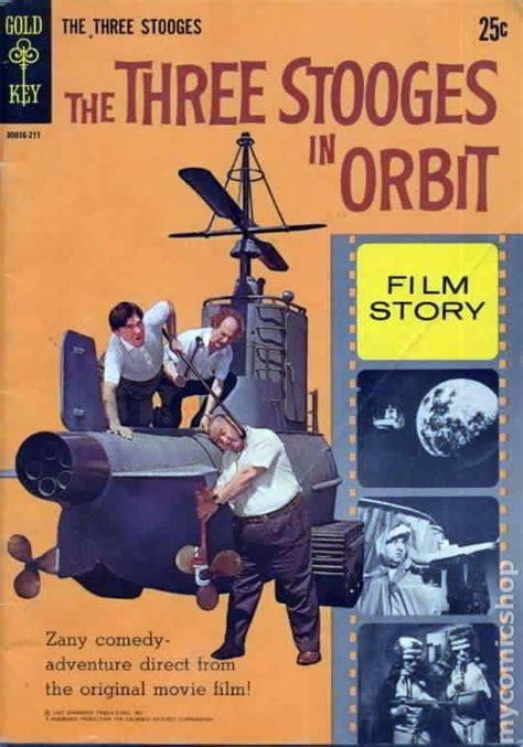 all three stooges books three stooges in orbit 1962 comics comic books