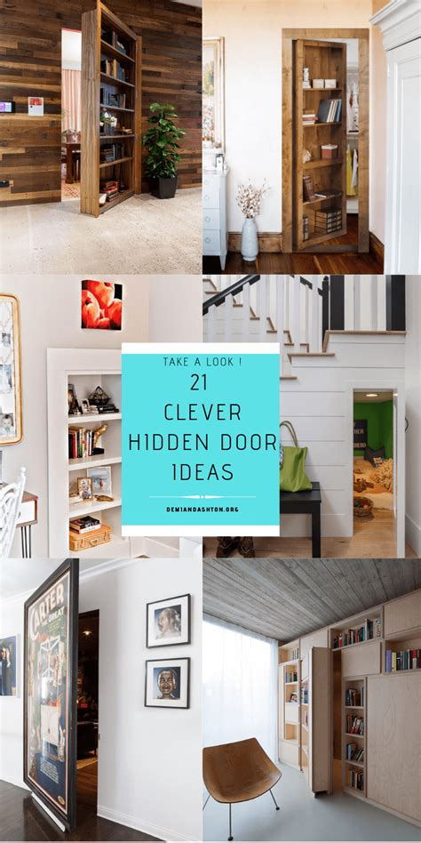 clever hidden door ideas    home  fun