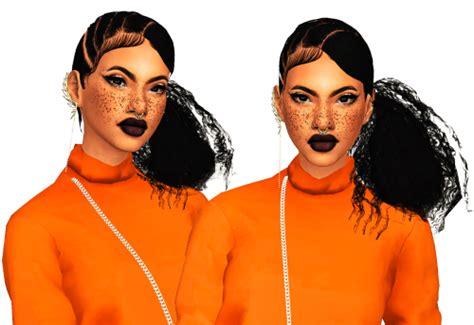 ebonix hair sims 4 simblr in london