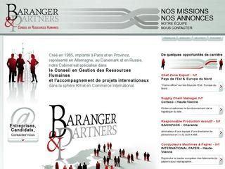 Cabinet De Recrutement Limoges by Baranger Partners Cabinets De Recrutement Executive Search