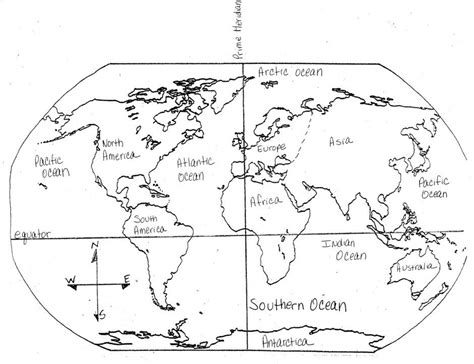 world continents colouring pages page id 45438
