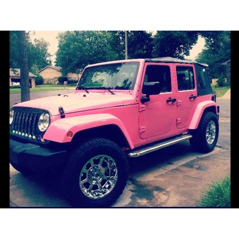 Pink Jeep Wheels Pink Rims Jeep Www Imgkid The Image Kid Has It