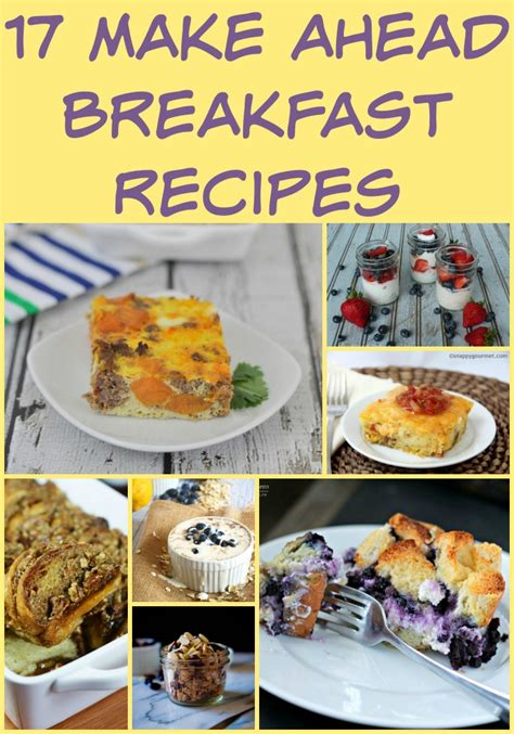 make ahead food gift 17 make ahead breakfast recipes my suburban kitchen