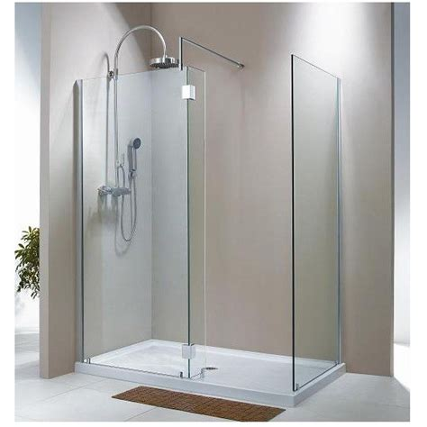 Fleurco V56315 Evolution Walk In Shower System Frameless Evo Shower Doors