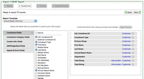 label templates little green light knowledge base amazon generating custom reports from the constituents or
