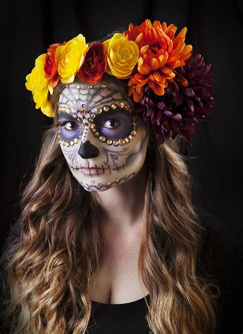 Best Sugar Skull Halloween Makeup  Ee  Ideas Ee   Feed  Ee  Inspiration Ee