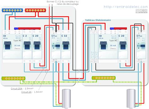tutoriel tableau electrique branchement chauffe eau lectrique comment rarmer la