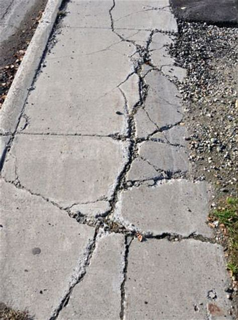 Sinking Fix by Settling Sinking Outdoor Concrete Repair In